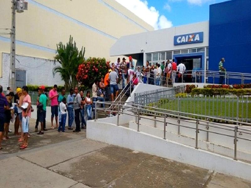 Brumado: Caixa Econômica Federal abre neste sábado (17) para saque de auxílio emergencial