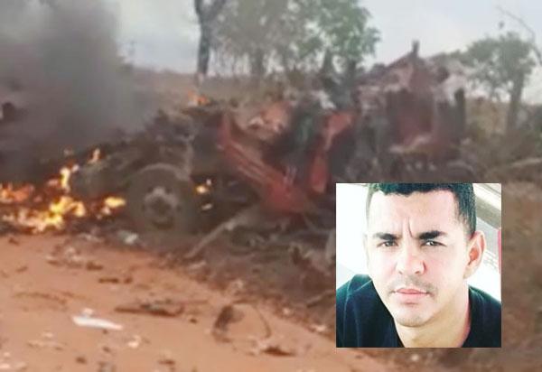 Caminhão de empresa brumadense explode e mata três pessoas na cidade de Cocos