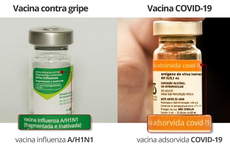 Por engano, 46 pessoas recebem vacina contra Covid no lugar de dose contra a gripe no interior de SP