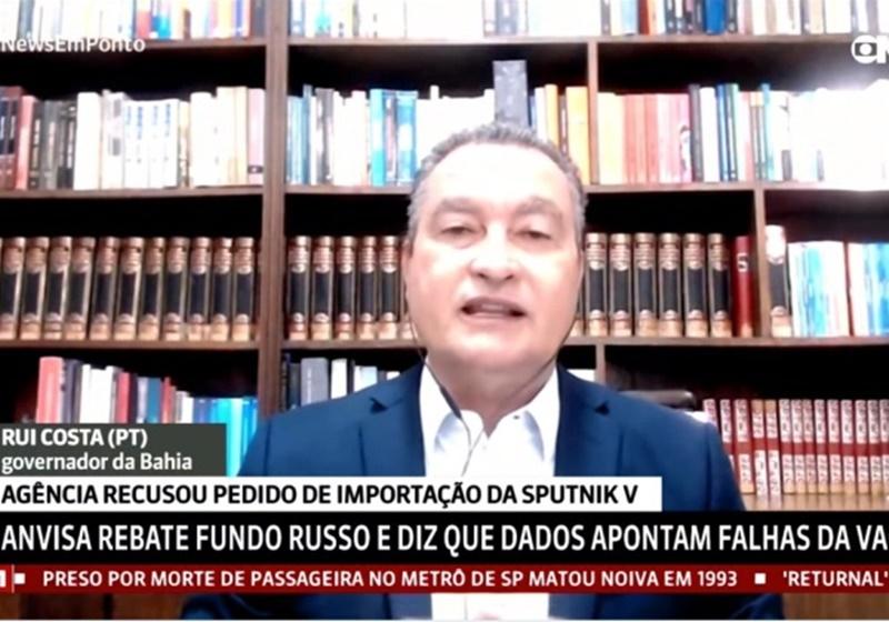 Rui volta a criticar Anvisa por veto à Sputnik V: '64 países não estão errados'