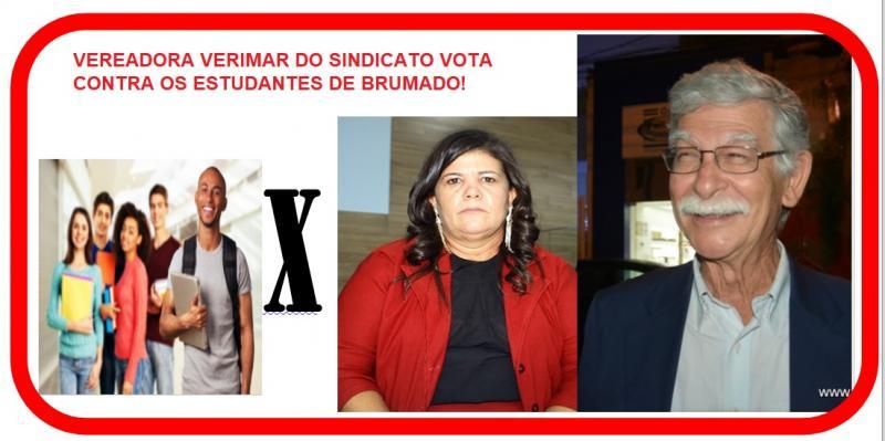 Brumado: Vereadores da situação votam contra projeto que beneficiaria estudantes.