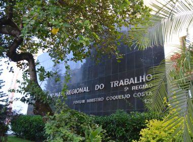 TRT-BA só deve retomar atividades presenciais em setembro