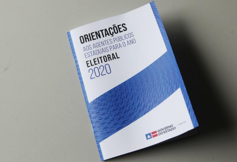 Governo do Estado lança cartilha para orientar ação dos agentes públicos em ano eleitoral