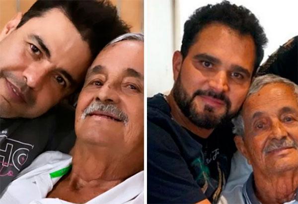 Morre aos 83 anos, Francisco Camargo, pai de Zezé e Luciano