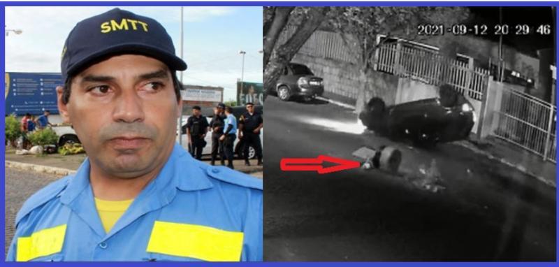 SMTT Parte 3: Coordenador de Sinalização da SMTT diz que acidentes com buracos nas ruas de Brumado é culpa dos motoristas.