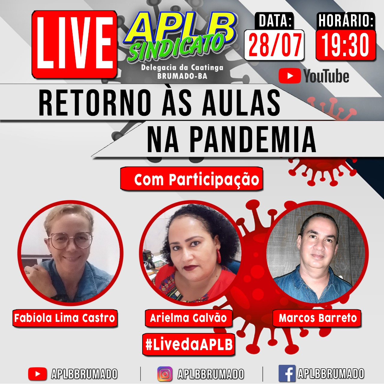 Live: Retorno às aulas na pandemia