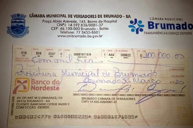 Brumado: Após declarações de secretária e cobrança da população, Câmara repassa R$ 100 mil para compra de cestas básicas