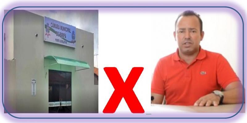 PIRIPÁ: CÂMARA DE VEREADORES ACIONA PREFEITO FLAVIO NA JUSTIÇA.