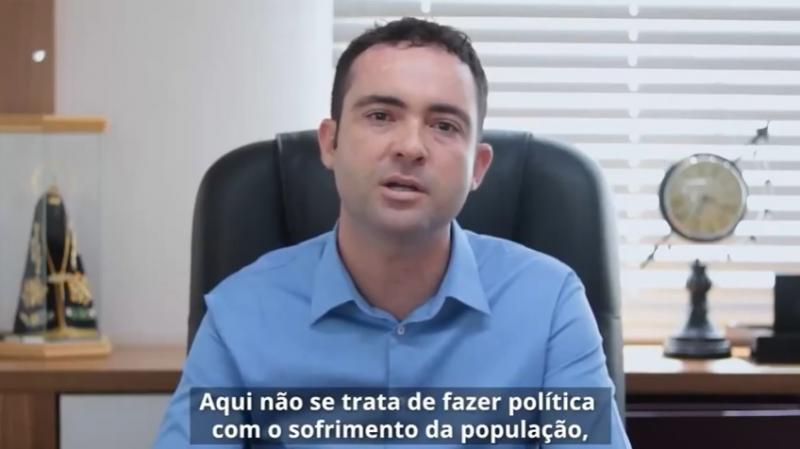 Fabrício Abrantes faz duras críticas a gestão municipal, diante da atual crise do covid-19 em Brumado.