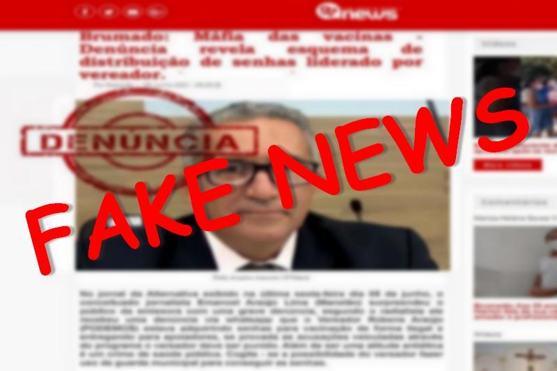 Direção do 97NEWS repudia 'fake news' com o nome do vereador Rubens Araújo