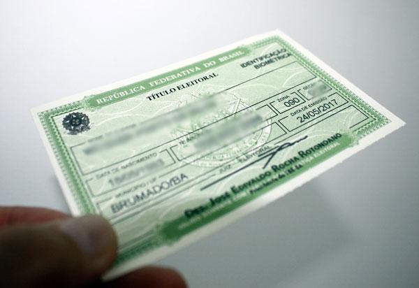 Bahia tem cerca de 1,6 milhão de eleitores com título cancelado