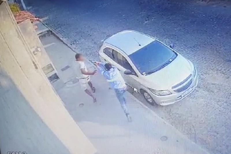 Brumado: Imagens de câmeras de segurança ajudam a identificar suspeito da morte de 'Mata Onça'