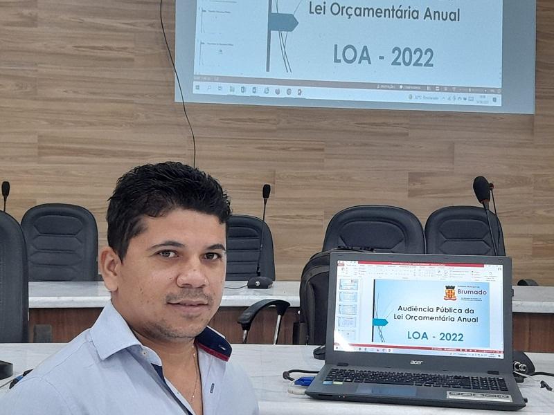 Prefeitura de Brumado estima orçamento de R$ 240 milhões para 2022