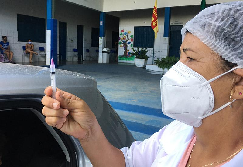 Brumado: pouca quantidade de vacinas é o grande entrave para atender o público prioritário; assevera secretário