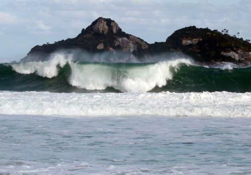 Formação de ciclone no litoral pode causar tempestades no estado e em mais oito regiões