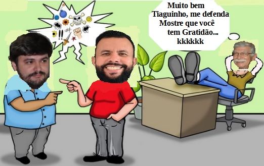 Vídeo de uma discursão entre os Vereadores Beto Bonely e Tiago Amorim viraliza na rede social.