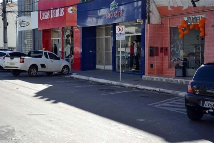 Prefeitura de Caetité suspende cobrança de estacionamento rotativo