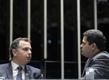 Presidência do Senado: Alcolumbre e Pacheco se reúnem com Rui Costa e Bruno Reis