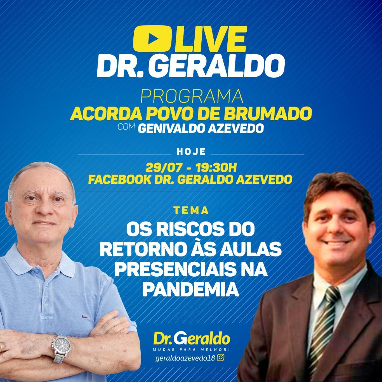 Live: Os Riscos do Retorno às Aulas na Pandemia
